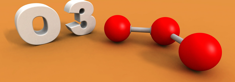 A,3d,Render,Of,An,Ozone,Molecule